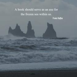Frozen Sea Quote by Kafka